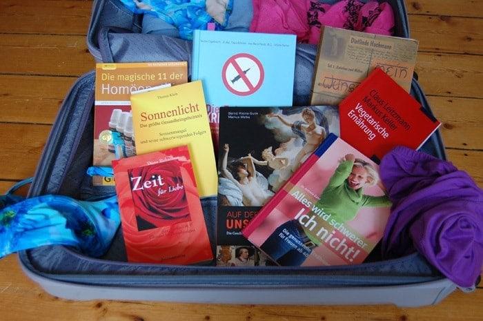 Endlich Urlaub: Buchvorschläge für den Reisekoffer
