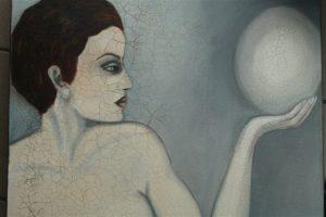 Bild der Frauenärztin und Künstlerin Hilly Kessler*