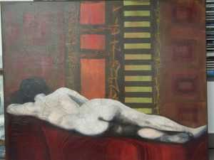 Schlafende von der Künstlerin Hilly Kessler*