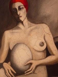 Kunstwerk der Frauenärztin Dr. Hilly Kessler*
