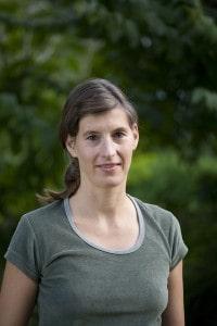 """Bildnachweis: privat; Hebamme Heike Riefler aus Gomaringen im Landkreis Thüringen sagt: """"Mit Yoga in der Schwangerschaft haben die Frauen in der Regel auch mehr Energie für ihren Alltag."""""""