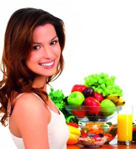 Gesunde Kost kann das hormonelle Gleichgewicht wiederherstellen