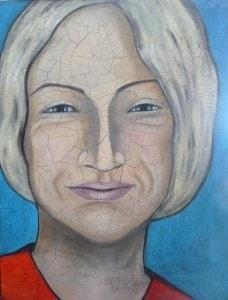 Portrait der Frauenärztin und Künstlerin *Dr. Hilly Kessler