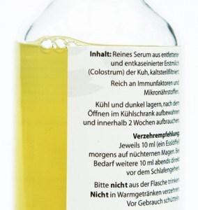Vicolac Colostrum Flasche