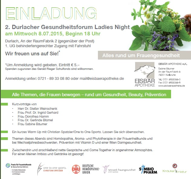 Gesundheitsforum Ladies Night
