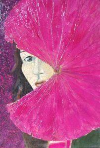 Frau mit Lotusblüte © Dr. Hilly Kessler