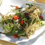 Spaghetti mit Haricot de mer © Dr. Barbara Rias-Bucher